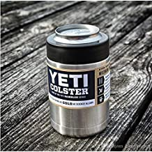 12 oz can Yeti Vacuum Insulated Rambler Colster Insulated Stainless Steel Cup by Yeti