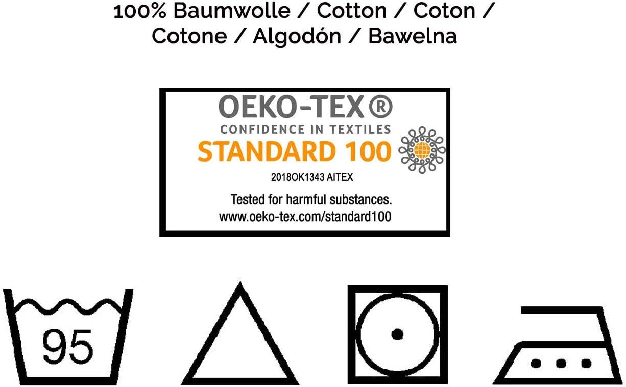 80x80 cm ZOLLNER 5 B/ébe mousseline couches de Gaze 100/% coton