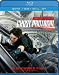 Cover Image for 'Mission: Impossible Ghost Protocol (Two-disc Blu-ray/DVD Combo +Digital Copy)'
