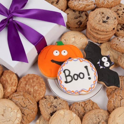 - Halloween Signature Cookie Gift Box- 12 Pc. by Lady Fortunes