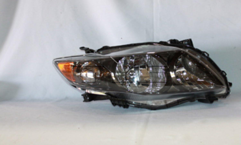 TYC 20-6993-90 Toyota Corolla Passenger Side Headlight Assembly
