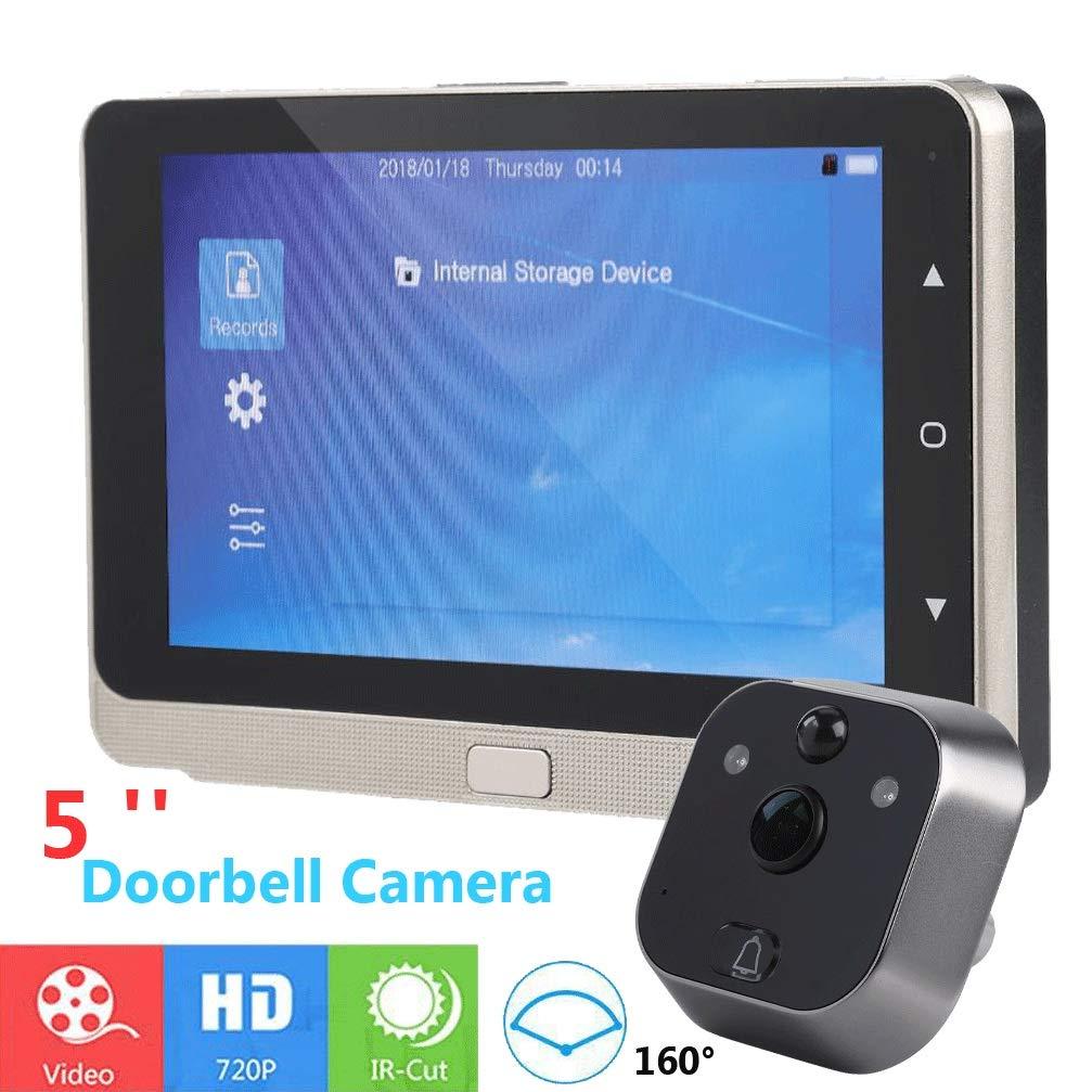Tü rsprechanlage mit HD-Video, 160 Grad Weitwinkel, 12,7 cm (5 Zoll), 720P Shenzhen Sheng Da Rong Hua Industrail Co. Ltd