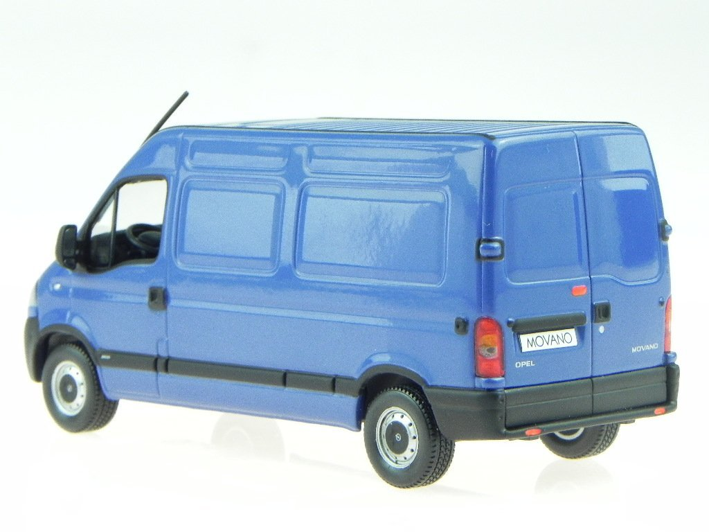 83f30d36df OPEL MOVANO BOX Lorry Blue Model Car Norev 1  43  Amazon.co.uk  Toys   Games