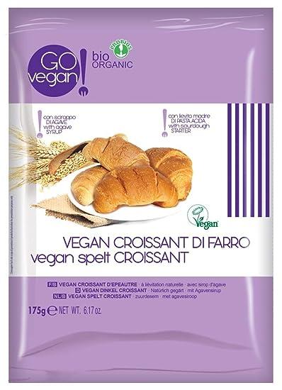 Probios Go Vegan Croissant de Espelta - 10 paquetes