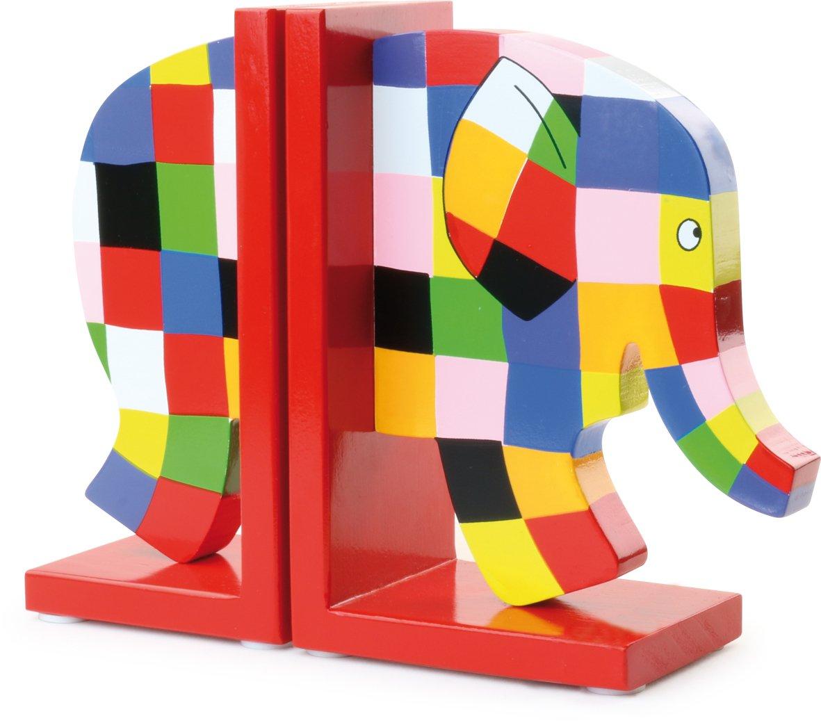 Fermalibri a Forma di elefantino Elmer 21 x 16,8 x 7 cm Vilac