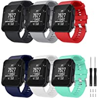TOPsic Armband voor Garmin Forerunner 35 armband, horlogeband reservearmband silicone accessoires armbanden voor…