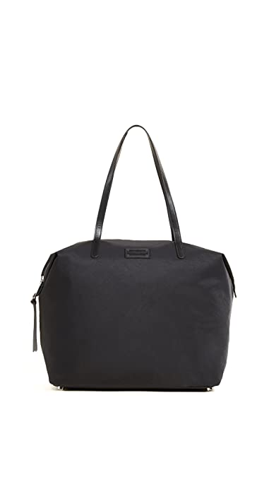 976fcdcb3 Amazon.com: Rebecca Minkoff Women's Nylon Tote, Black, One Size: Shoes