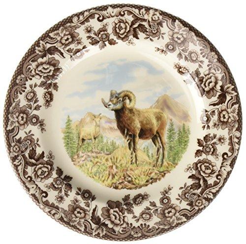 Spode 1597075 Woodland Bighorn Sheep Salad Plate