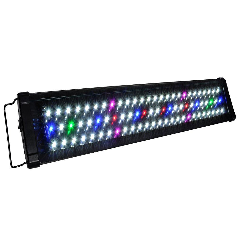 Koval inc 78 led aquarium lighting for 24 inch 30 inch for Led fish tank light