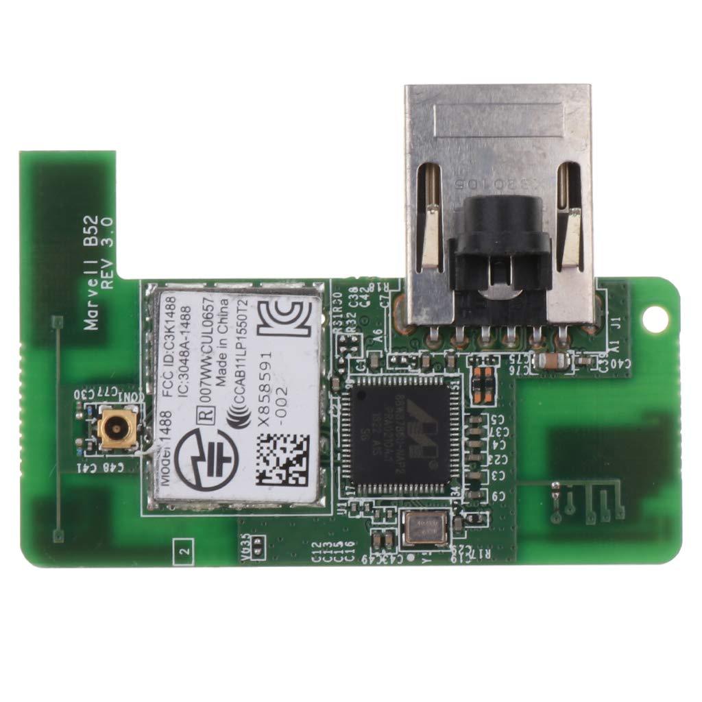 B Baosity Tarjeta de Red Wi-fi con Bluetooth Reemplazo de ...