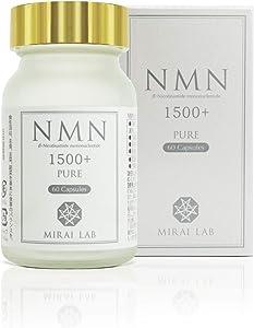 NMN ß-Nicotinamide Mononucleotide 1500 Pure Plus