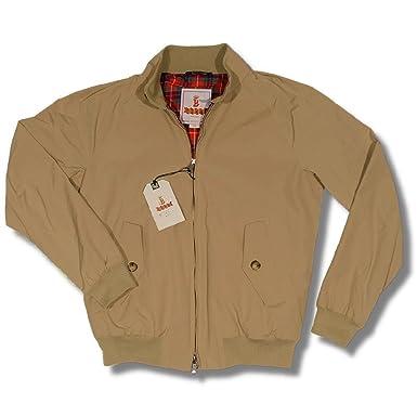 The All New Baracuta G9 Mod Slim Fit Harrington Jacket Dark Beige 42 ... d388ee2216