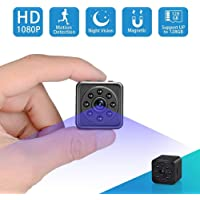 Spy Hidden Camera-SOOSPY 1080P Portable Mini Security Camera Nanny Cam with Night Vision/Motion Detection /420mAh Battery for Home and Office,Indoor/Outdoor Use-No WiFi Function
