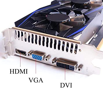 Oldhorse Tarjeta Grafica GeForce GTX 750TI 4G DDR5 128Bit ...