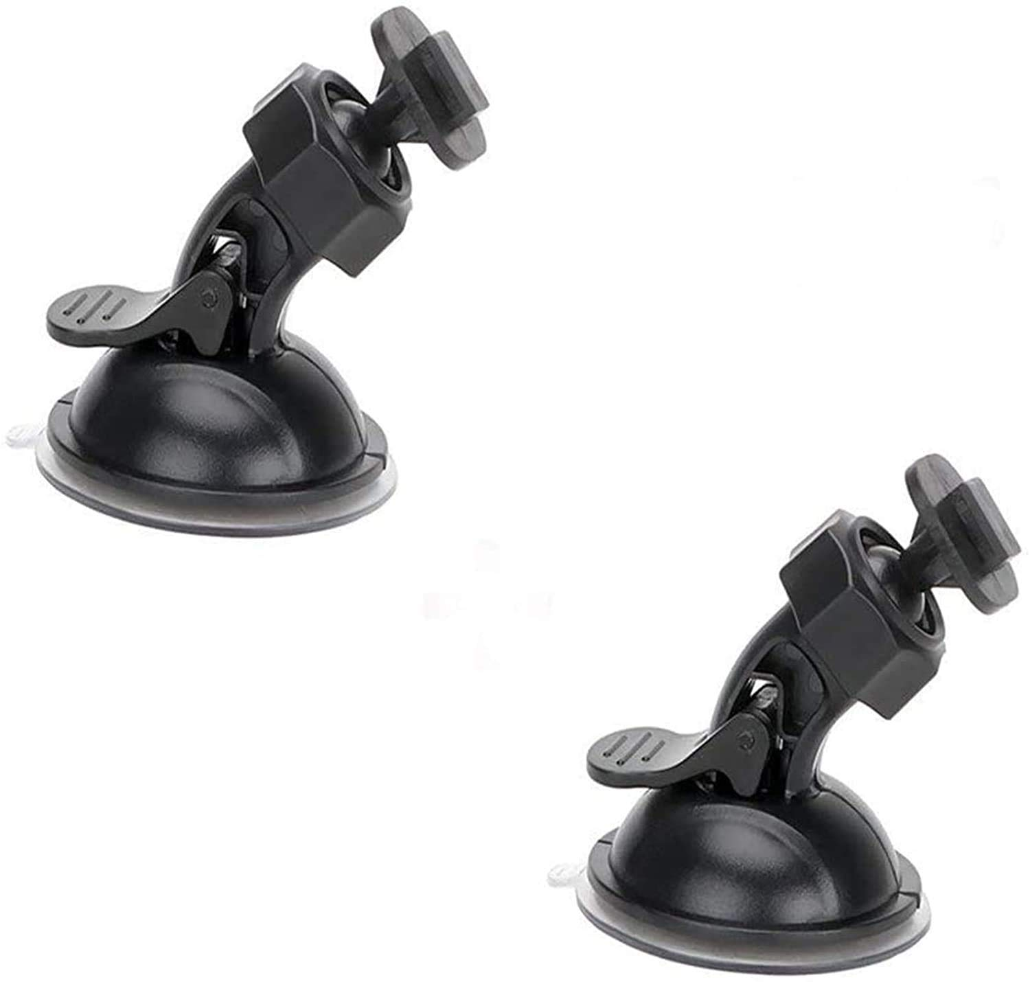 YI TiToeKi Dash Cam Suction Mount with 15+ Swivel Ball Adapters Compatible with Rexing V1 Byakov Old Shark UGSHD and Most Dash Cameras Roav UGSHD APEMAN Z-Edge
