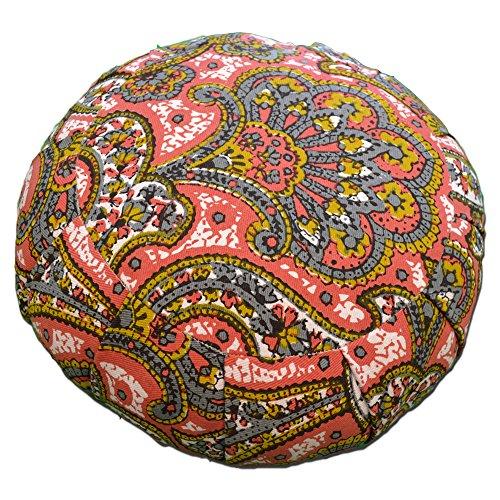 Yoga Accessories Meditationskissen, rund, Baumwolle