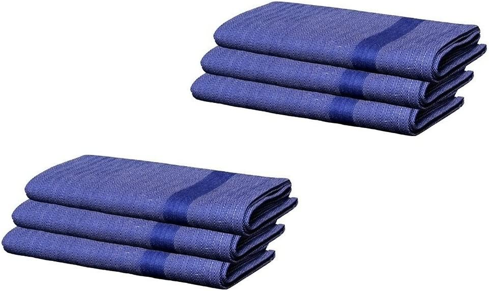 Amazon Com Stock Clearance Offer 50 Off Buy 3 Get 3 Free 100 Pure Cotton Kitchen Towel Tea Towel Dish Towel Size 20x32 Big Towels Kitchen Dining