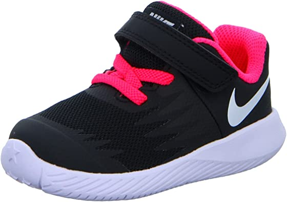 Nike Star Runner (TDV), Zapatillas de Trail Running Unisex niño, Negro (Black/White/Volt/Racer Pink 001), 25 EU: Amazon.es: Zapatos y complementos