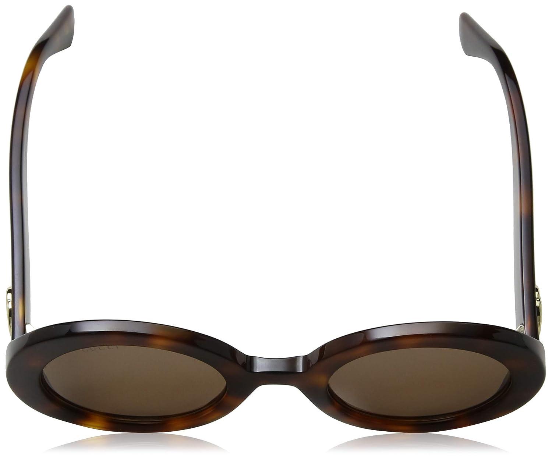 3ecde56a1bc Amazon.com  Gucci GG 0107 S- 002 GOLD ORANGE Sunglasses  Clothing