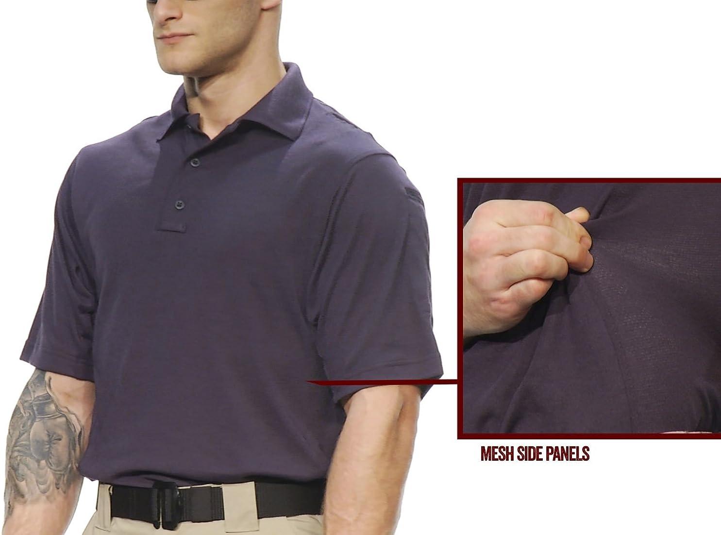 24-7 dri-Release p//c 6.5oz Jersey Tru-Spec Mens Polo Shirt