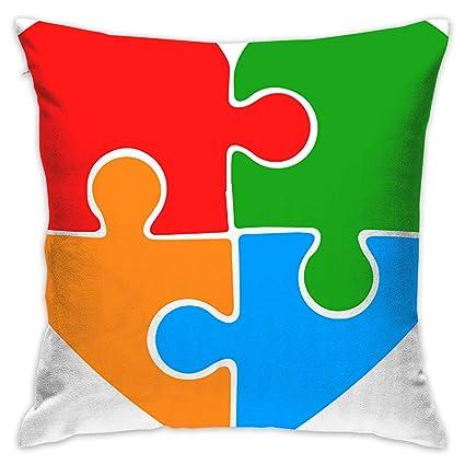Autisms Hidden Gifts >> Amazon Com Pillowcase Cushion Covers Custom Autism Awareness