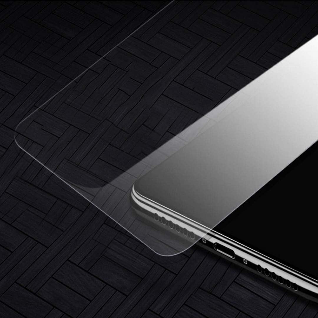 LJSM Case for UMIDIGI A7 Pro Transparent Silicone Soft TPU Cover Shell for UMIDIGI A7 Pro Tempered Film Glass Screen Protector 6.3