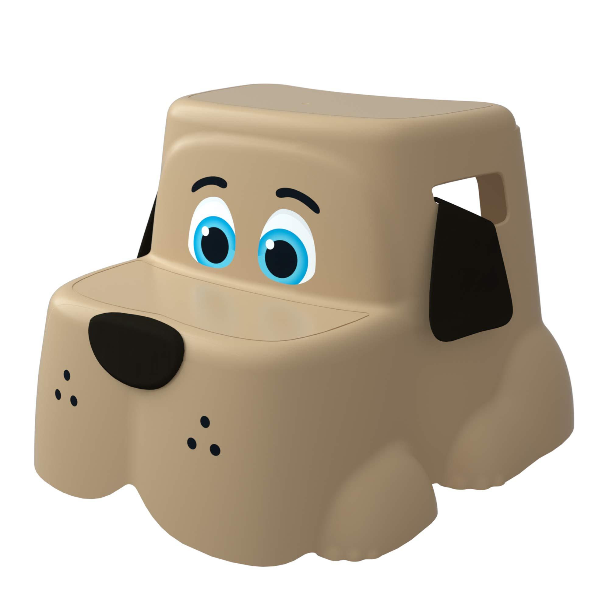 Squatty Potty The Original Toilet Stool, Kids Potty Pet''Pup'' Base Multi-Purpose Training Stool
