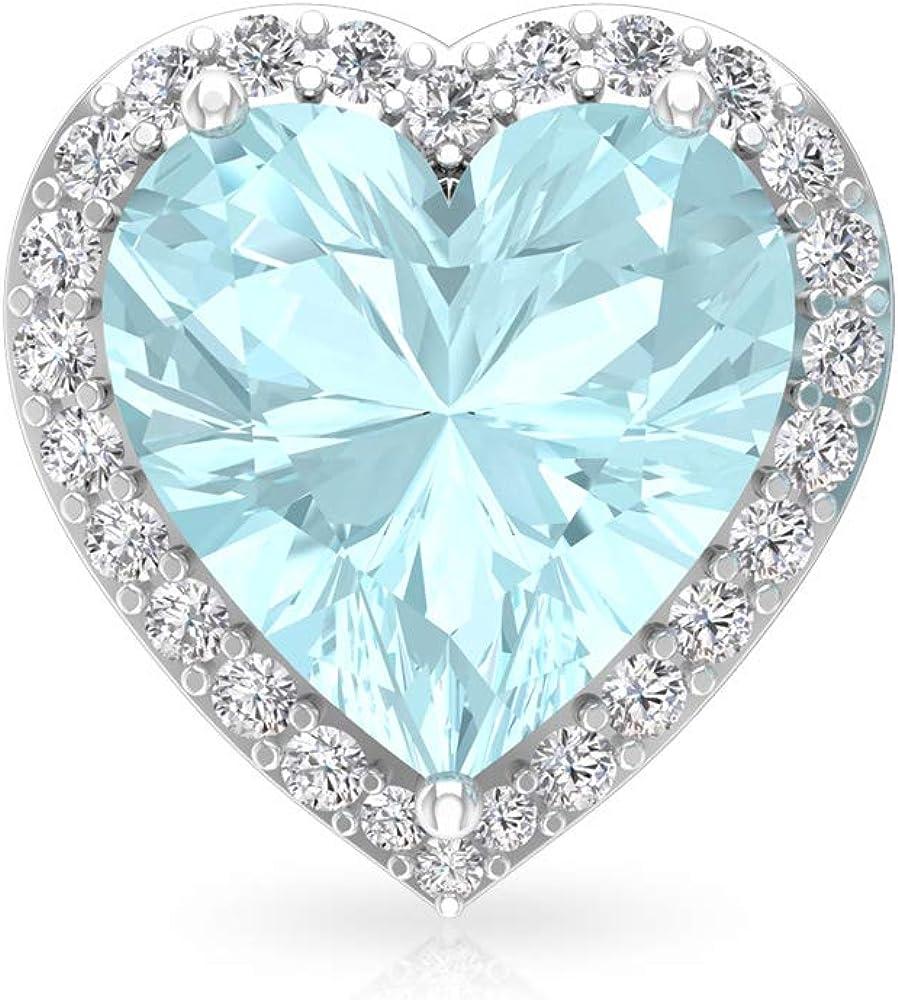 Pendiente de novia con diseño de topacio azul de 3 quilates, certificado IGI, IJ-SI Diamond Bridesmaid Earrings, estilo vintage, tornillo hacia atrás
