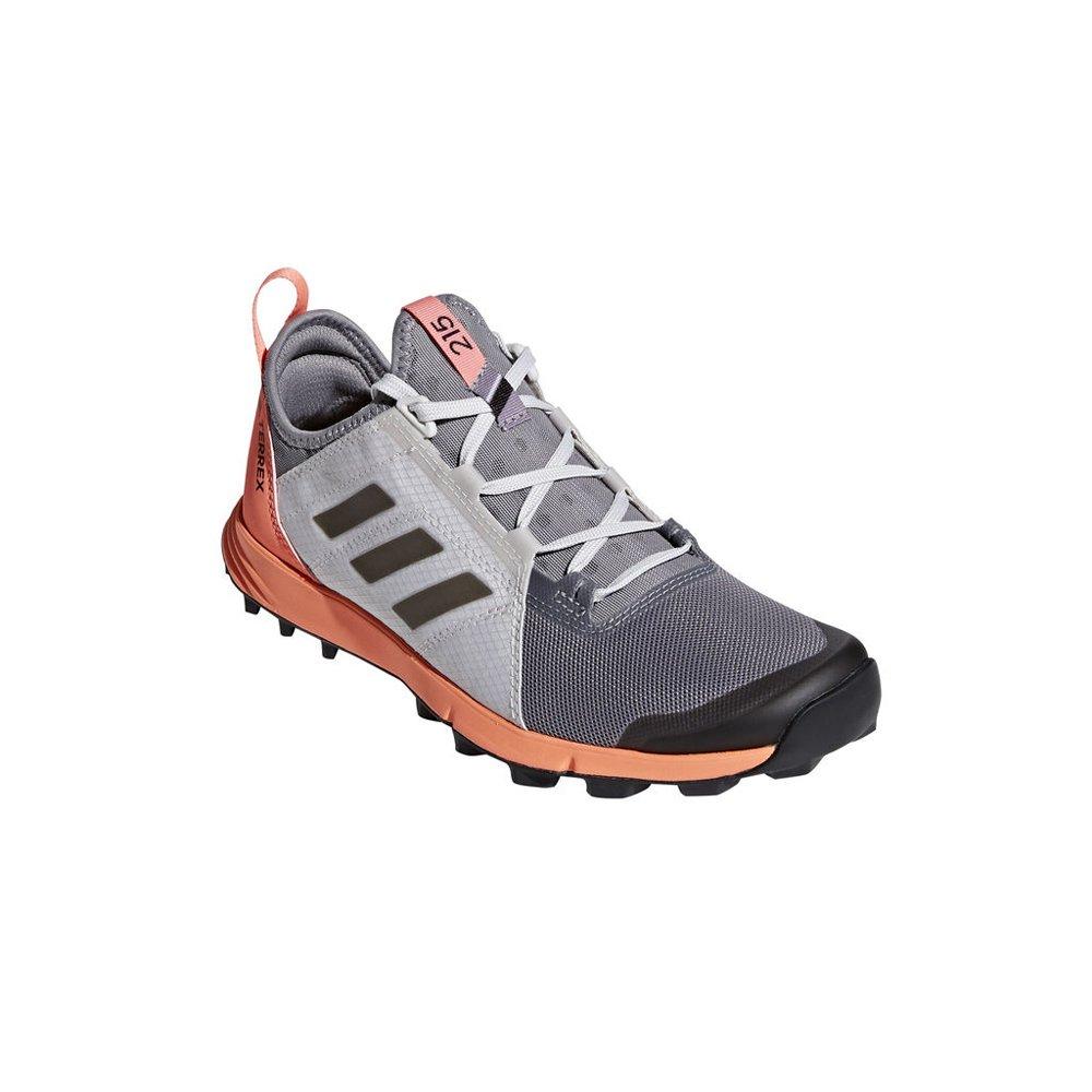 adidas outdoor Women's Terrex Agravic Speed Grey Three/Black/chalk Coral 6.5 B US
