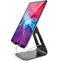 Tablet Stand Multi-Angle, Lamicall Tablet Holder: Desktop Adjustable Dock Cradle Compatible with Tablets Such As iPad…