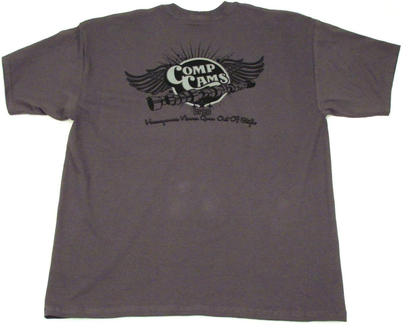 COMP Cams C1023-XL Gray X-Large Wings T-Shirt