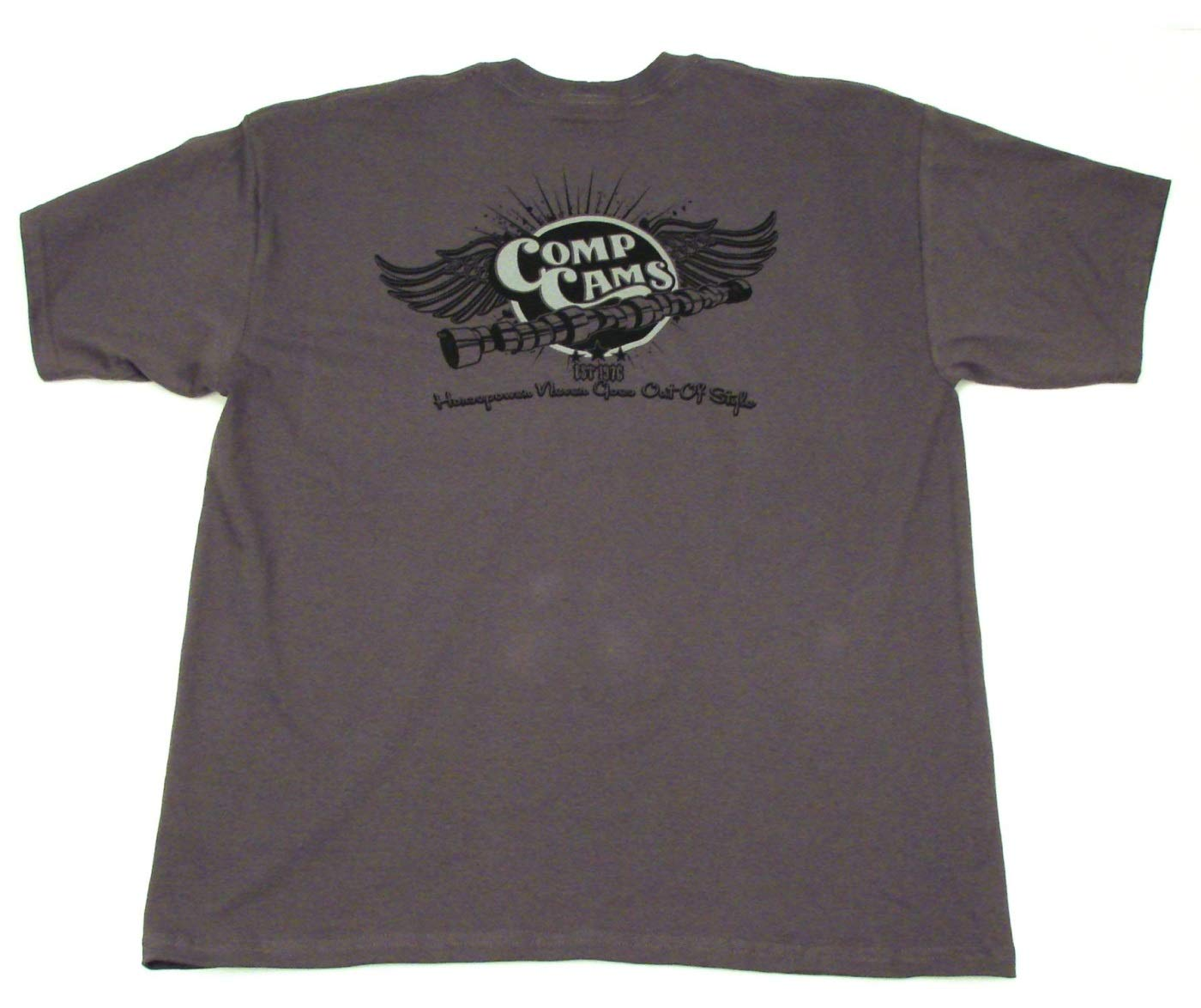 COMP Cams C1023-XXXL Gray XXX-Large Wings T-Shirt