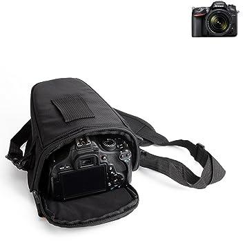 K-S-Trade para Nikon D7200: Bolsa per Camera DSLR/SLR/DSLM/Bridge ...