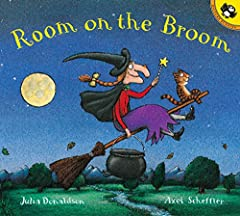 The witch and her cat are happily flying through the sky on a broomstick when the wind picks up and blows away the witch's hat, then her bow, and then her wand! Luckily, three helpful animals find the missing items, and all they want in retu...