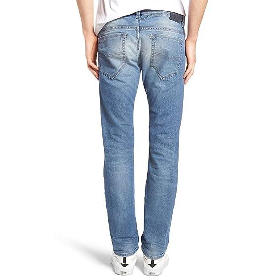 467d7678 Diesel Mens Slim Carrot Leg Jeans in Dark Denim- Five Pocket Styling: Diesel:  Amazon.co.uk: Clothing