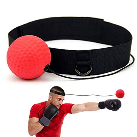 Magic Boxing Ball Head Band for Reflex Speed Fight Boxer Training Punch Gym UK