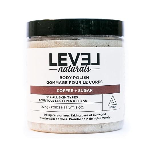 Level Naturals - Body Polish Coffee + Sugar