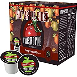 Twisted Pine Coffee Hot Apple Cider Single Serve -12 ct