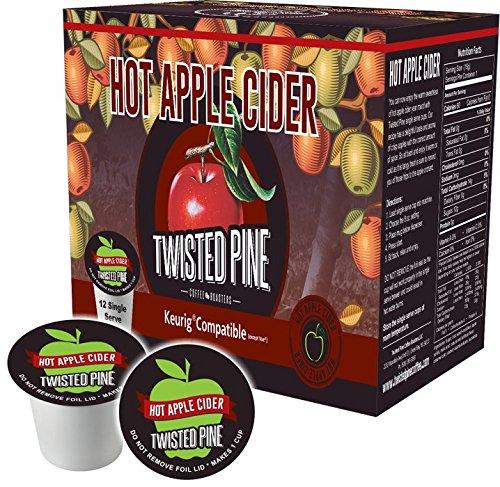 (Twisted Pine Coffee Hot Apple Cider Single Serve -12 ct)
