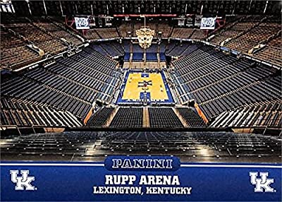 Rupp Arena basketball card (Kentucky Wildcats) 2016 Panini Team Collection #7