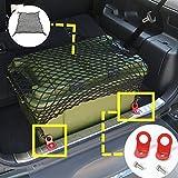 Car Rear Trunk Luggage Net & Rear Trunk Hooks 3pcs For Suzuki Jimny 2007-2015