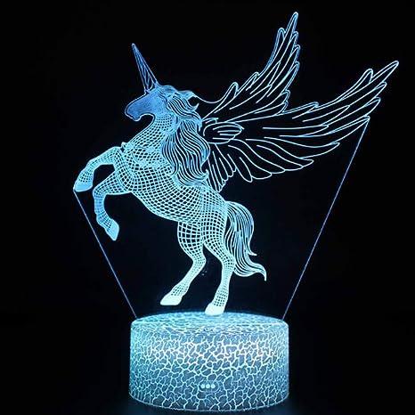 Amazon.com: Luces nocturnas Unicornio Regalos para niños con ...