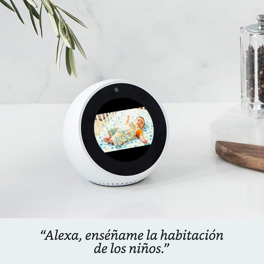 Amazon Echo Spot, negro + Philips Hue White Kit - Kit de 2 bombillas LED E27 y puente