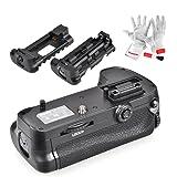 Meike MK-D7100 Batteriegriff Akkugriff wie MB-D15 für Nikon D7100 D7200 DSLR Kamera mit Pergear Reinigung Set