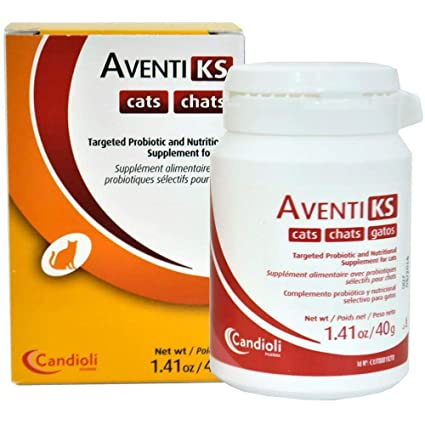 Amazon.com : Aventi KS Kidney Support Powder for Cats 40 ...