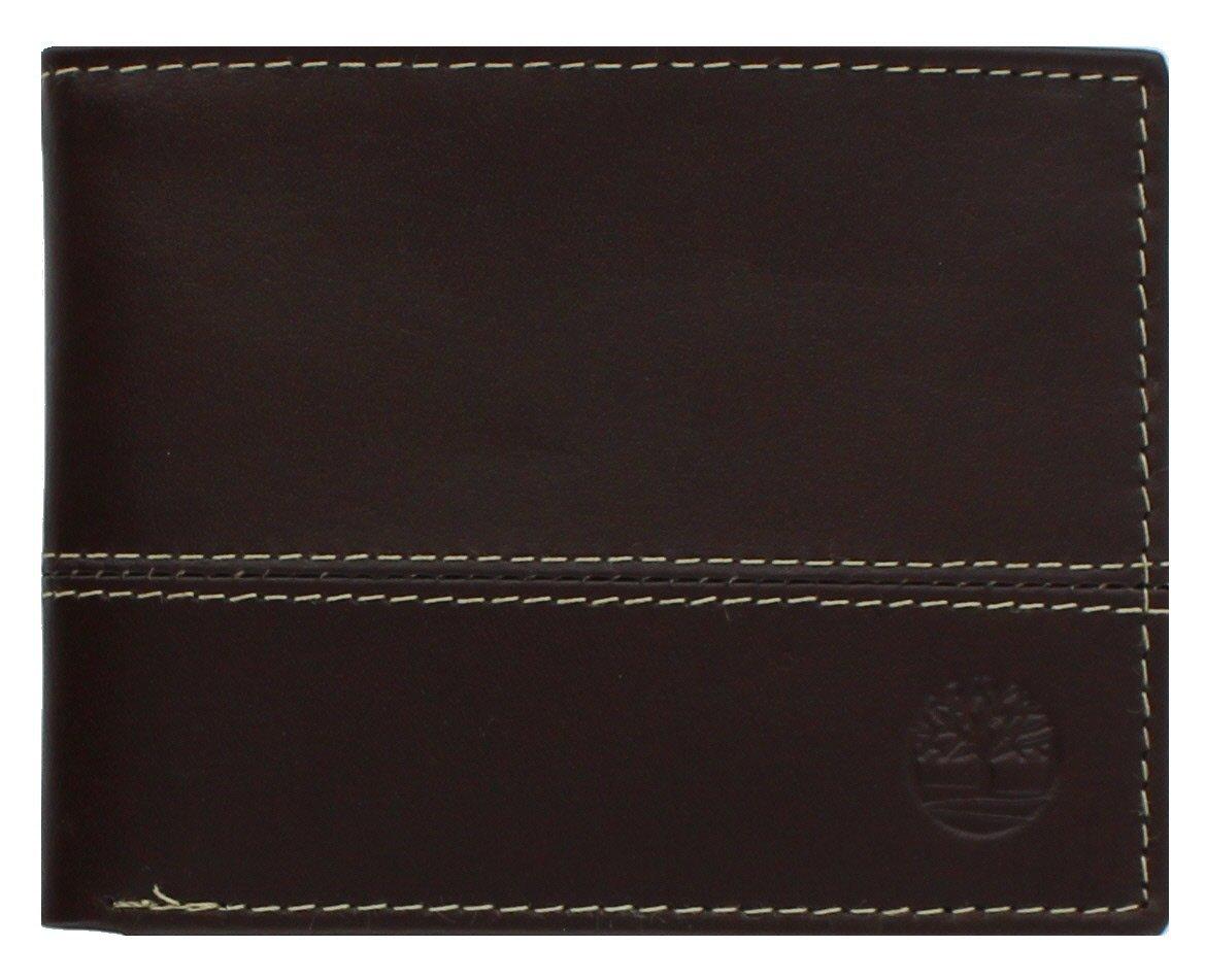Timberland Men's Hunter Colorblocked Passcase (BROWN)