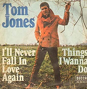Image result for tom jones i'll never fall in love again images