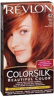 revlon colorsilk cheveux naturels couleur 4r moyen auburn 4r moyen auburn - Revlon Coloration