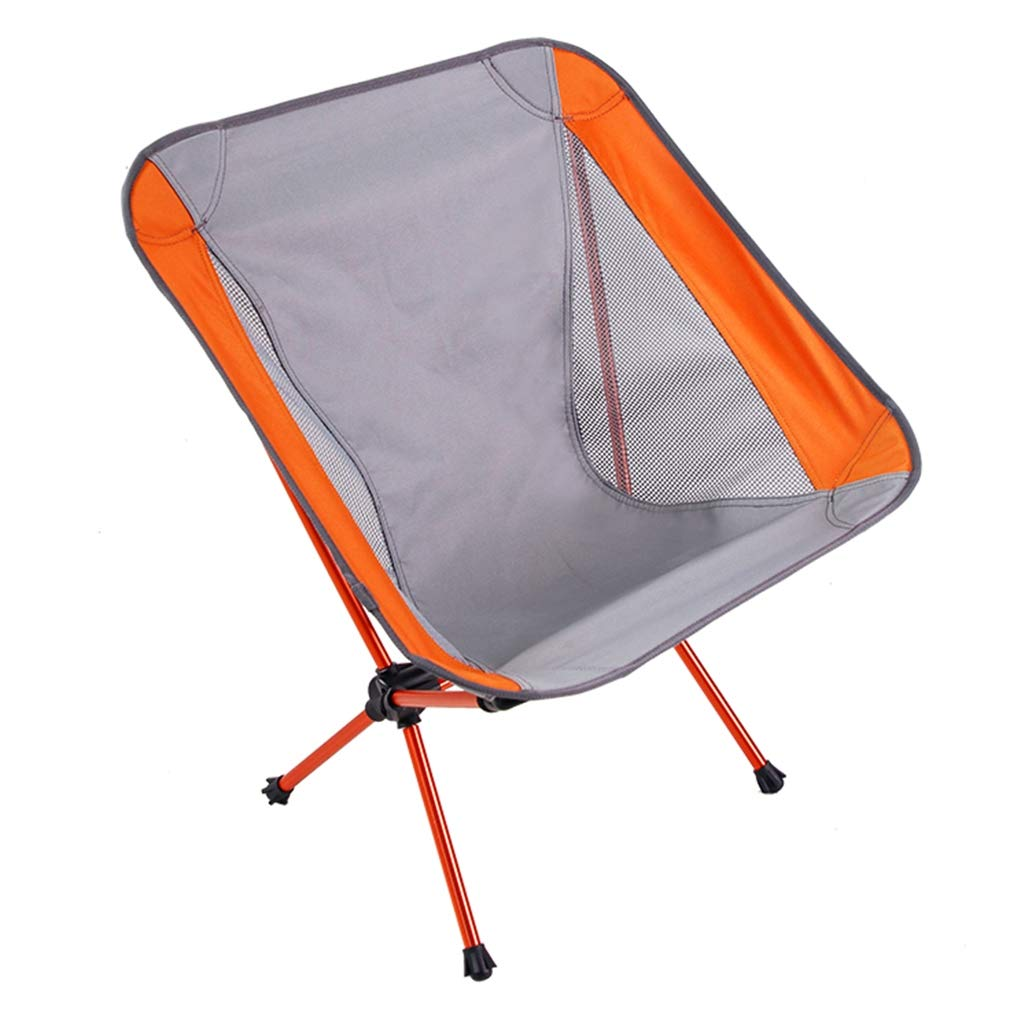 gris  Bigood portable Tabourets Pêcher Camping Maille Chaise Pliante Léger Durable