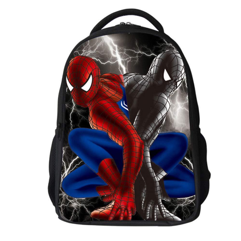 Borsa Dello Zaino Del Bambino Piccolo Della Ragazza Del Ragazzo Dello Spiderman Del Fumetto